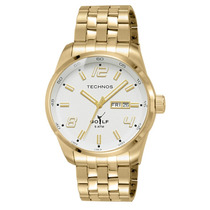 Relógio Technos Masculino Classic Golf Dourado 2305ae/4b