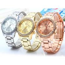 Relógio Geneva Feminino Importado Pronta Entrega