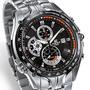 Relógio Casio Edifice Ef 543d 1av No Brasil Fundo Preto