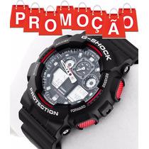 Relogio Cassio Ga-100 G-shock Ga100 Crono 5 Alarmes Original