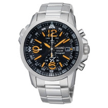 Relógio Seiko Solar Adventure Ssc077 Classic Cronografo
