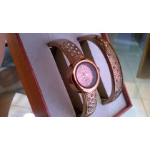 Relógio Bracelete Strass Ana Hickmann Foto Real 12x Sem Juro