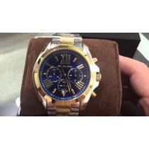 Relógio Michael Kors Mk5976 Dourado Prata- Autentico