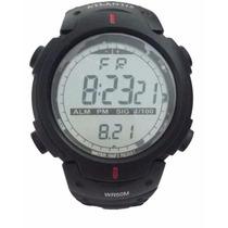 Relógio Atlantis Cassio Sport Digital Resistente À Água