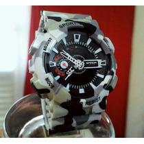 Relógio Tropa D Shock Camuflado Exercito Ga 110 Original+box