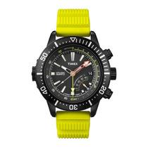 Relógio Masculino Timex Iq T2n958pl/ti Medidor De Profund...