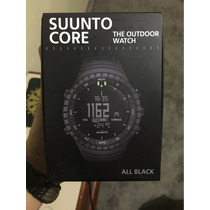 Relogio Joia - Suunto Core All Black 100% Original Lacrado