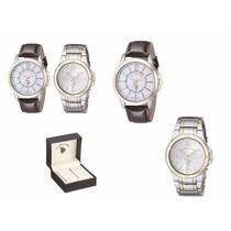 Relógio U.s. Polo Assn Com 2 Unidades