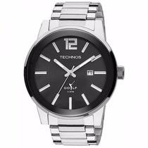 Relógio Technos Masculino Classic Golf 2115tu/1p Prata