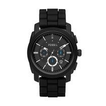 Relógio Masculino Fossil Machine Ffs4487/z Pulseira Silicone