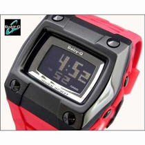 Relógio Cásio Baby-g Bg-2100 4dr Shock Water Resist Vermelho