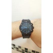 Relógio Hublot Big Bang Aro Azul Automatico/prova D`agua