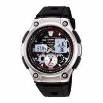 Relógio Casio Masculino Analógico Digital Aq190w-1avdf