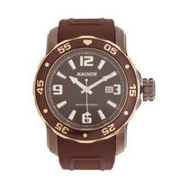 Relógio Magnum Ma31908r Marrom - Frete Grátis