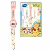 Kit Champion Troca Pulseiras Disney Pooh - Garantia E Nf
