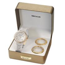 Relógio Seculus Moda Feminino 24774lpsfdp2-g,