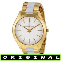 Relógio Michael Kors Mk4295 Gold 42mm Midsized Lançamento !