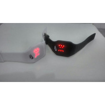Kit 10 Relogios Nike Led Watch Quadrado Varias Cores