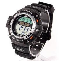 Sgw-300h-1av Relógio Casio Outgear Altimetro Barometro Te...