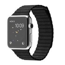 Relógio Apple Watch Stainless Pulseira De Couro Loop 42mm