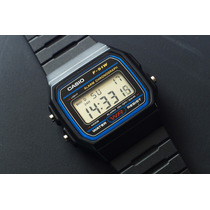 Relógio Digital Casio F91 Preto Original