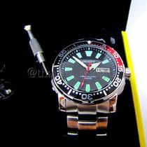 Relógio Orient Poseidon Automático Coke 469ss039 De Mergulho