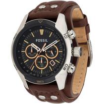 Relógio Masculino Fossil Coachman Ch2891/2pn Couro