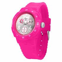 Relógio Feminino Esportivo Rosa Academia Condor