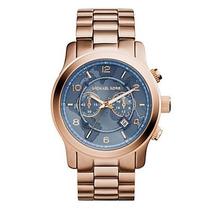 Relógio Michael Kors Mk8358 Rose Cinza Original
