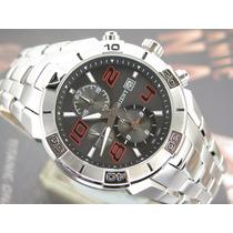 Relógio Orient Cronógrafo Quartzo Calendario Aço Mbssc058