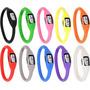 Relógios Colorido Pulseira Silicone Frete Gratis.