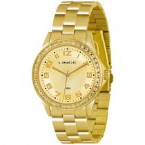 Relógio Lince Lrgj031l C2kx Feminino Dourado - Refinado