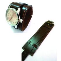 Pulseira, Bracelete Em Couro Para Relógio