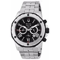 Relógio Bulova Chronograph 98b106 / Wb30873t Marine Star