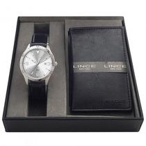 Relógio Lince Mrc4197s K019b2px Masculino Kit - Refinado