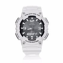 Relógio Cassio Digital Branco Ref Aqs810wc7avdf