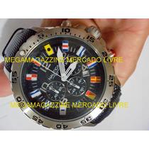 Relógio Nautica A24520g 100% Original (pulseira Preta)