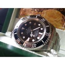 Relógio Eta A2836 Modelo Deepsea Sea-dweller Dial Preto