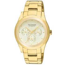 Relógio Feminino Dourado - 6p29afa/4x Technos