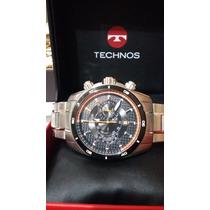 Lindo Relogio Technos Cronografo - Grande Moderno