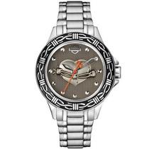Relógio Bulova Harley-davidson Feminino Wh38011c - 76l166