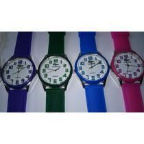 Kit/lote 10 Relógio Feminino Silicone Atacado Ótimo Revenda