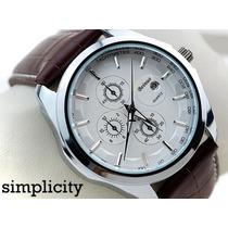 Relógios Luxo Marca Beinuo Quartz Masculino Mod. No: 6470