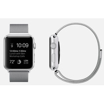 Pulseira Apple Watch 42 Milanese Loop Metal Varias Cores