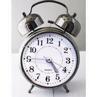Relógio Despertador Analógico Com Som Bem Alto - 2 Sinos