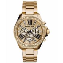 Relógio Michael Kors Mk6095 100% Original Garantia De 1 Ano