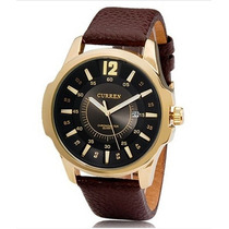 Relógio Curren 8123 Casual Quartz Analógico