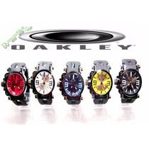 Kit Com 5 Relógios Oakley Gearbox Neymar Pronta Entrega