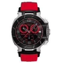 Relógio Tissot T-race Moto Gp Vermelho / Preto / Rose /