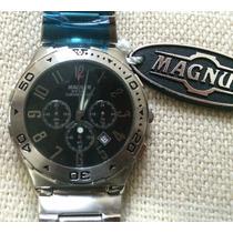Envio 24 Horas - Relógio Magnum Steel Chronograph Ma30310